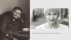 Mona Hovring and Camilla Collett