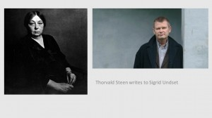 Thorwald Stten and Sigrid Undset